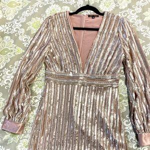 Sequin Party Mini Dress